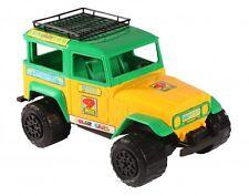 Toyota Land Cruiser J40 FJ40 BJ 40 Bandeirante Dakar Rally Plastic Scale Model