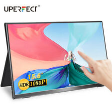 """15.6"""" Touch Screen Portable Monitor LCD Display 1080P Mini HDMI For SAMSUNG DEX"""