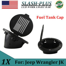 1X Fuel Filler Door Cover Gas Tank Cap For 2017-2018 Jeep Wrangler JK Unlimited