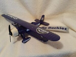 ERTL COLLECTIBLES 1997 COLORADO ROCKIES DIECAST AIRPLANE