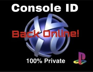 PS3 CONSOLE ID CID 100% PRIVATE + WARRANTY AND INSTANT DELIVERY