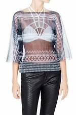 """Brand New SASS & BIDE   """"Down To Earth""""   Loose Fit Sheer Top -  Size 12 - $390"""