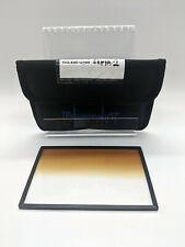 "Formatt Hitech 4x5.65"" Color Graduated Golden Sepia 2 Soft Edge Filter"