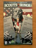 KNOCK EM DEAD 1 2020 Andy Clarke Main Cover A 1st Print Aftershock Comics NM