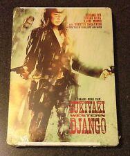 SUKIYAKI WESTERN DJANGO SteelBook DVD Bloody Benton Quentin Tarantino New Rare