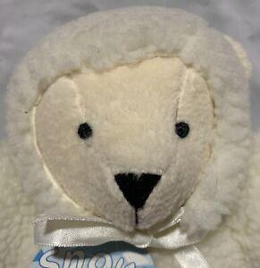 Snow Ball NABCO North American Bear Company Plush Teddy Stuffed Animal Snowball