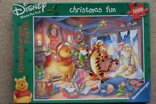 "Ravensburger Disney Winnie The Pooh - ""Christmas Fun"" 1000 pc Jigsaw"