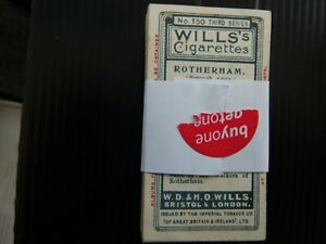 ONE COMPLETE SET CIGARETTE CARDS WILL'S BOROUGH ARMS 3RD SERIES RED ALBUM CLAUSE