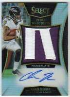 2016 Select Prime Selections Prizm Nameplate Patch AUTO RC /49 #14 Chris Moore