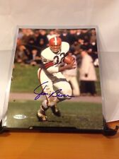 HOF Football Browns Jim Brown Autographed 8x10 Photo Upper Deck Authenticated