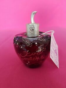 Lolita lempicka eau de minuit noir argent 80ml neuf très rare collector