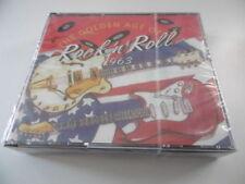 CD de musique emballés rock 'n' roll, sur coffret
