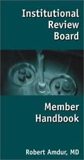 Institutional Review Board Member Handbook-ExLibrary