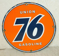 UNION 76 Gasoline Oil Vintage Style Porcelain Signs Gas Pump Man Cave Station