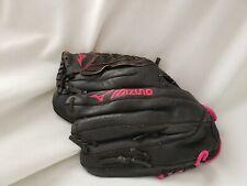 MIZUNO Finch Pink Black Baseball /Softball Glove Youth 11 Inches