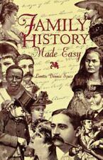 Family History Made Easy (Paperback or Softback)