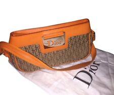 100% AUTHENTIC Dior Canvas Small Shoulder Bag