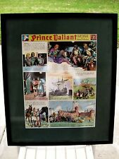 Harold Foster PRINCE VALIANT 4-Color Cels SUNDAY #85  9-25-1938 FRAMED Unique