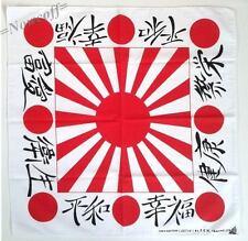 Bandana Scarf Rising Sun Kamikaze Japan Flag Japanese Naval Ensign Decor Cloth
