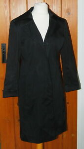 Nine West, Ladies, Black, Casual, Office, Trench, Coat, size L/G (14)