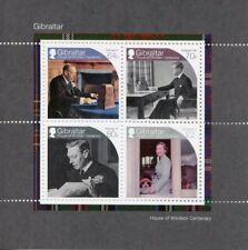 Gibraltar 2017 MNH House of Windsor Queen Elizabeth II 4v M/S Royalty Stamps