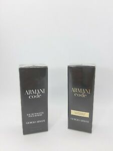 New Giorgio A  Armani Code 2 ×15ml EDT + EDP  Men's /Gift Perfume Travel For Him