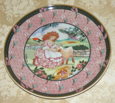 Heinrich Mary Had A Little Lamb PLATE Germany Renee Faure COA & Box Bed Time
