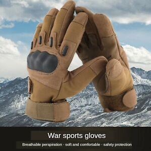 Anti-cutting anti-slip tactical winter driving waterproof motorcycle gloves