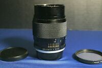 Yashica YUS Automatic 135mm F2.8 1:2.8 CY C/Y Mount Camera Lens CLEAN w/ filter