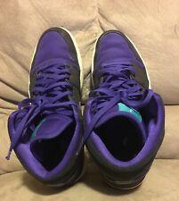 Jordan 1 black and purple  mens size 12