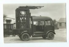 Overhead Inspection Repair Truck LESLIE'S PHOTOGRAPHER BLACKBURN Original Photo