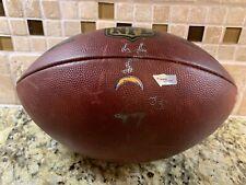 Patrick Mahomes Rookie Season Game Used NFL Football Kansas City Chiefs KC MVP