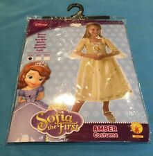 Girls Fancy Dress Up Play Costume - Disney Sofia The First Amber Costume