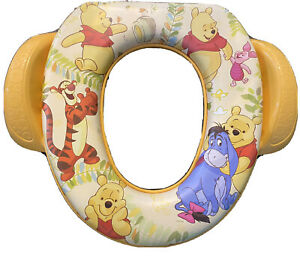 Disney Winnie the Pooh And Friends Potty Training Soft  Squishy Seat Cover NEW