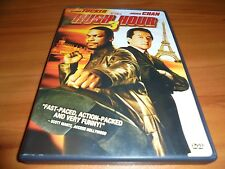 Rush Hour 3 (DVD, Widescreen/Full Frame 2007) Jackie Chan Chris Tucker Used