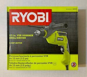 """Ryobi 1/2"""" Inch VSR Corded 5 Amp Variable Speed Hammer Drill HD420"""