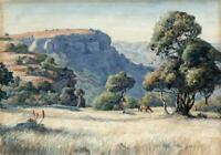 MABEL WITHERS (1870-1956) Watercolour Painting LANDSCAPE - 20TH CENTURY
