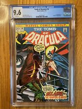 Tomb of Dracula 10 - CGC 9.6 - First App of Blade