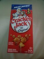 Cracker Jack The Original 3-ct. Packs of 1 oz Each You Get 6 Individual CJ5