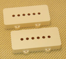 005-4442-049 Genuine Fender Aged White Jazzmaster® Guitar Pickup Covers