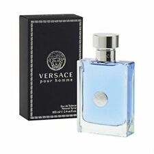Versace Pour Homme 100ml 3.4OZ Eau De Toilette  Spray For Men New in Sealed Box