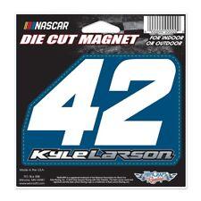 "Kyle Larson Wincraft 2018 #42  Die Cut 5""x5.25"" Magnet FREE SHIP!"