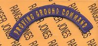 USAAF Army Air Force PROVING GROUND COMMAND tab arc patch