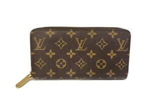 Louis Vuitton Brown Monogram Zippy Wallet