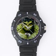 Reloj Pulsera el Monstruo Verde Hulk Vengadores rompiendo Reloj de plástico de pantalla
