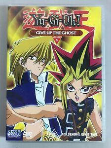 Yu-Gi-Oh Give up the Ghost Volume 4 DVD Yu Gi Oh YuGiOh
