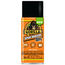 Gorilla Heavy Duty Super Strength Spray Adhesive Clear