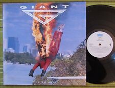GIANT, TIME TO BURN, LP 1992 RARE HOLLAND 1ST PRESS A1/B1 EX-/VG+ WITH INNER/SL