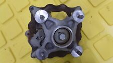 Can-Am DS450 Left Front Spindle, Wheel Hub, Brake Caliper, & Disc