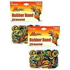 Hair Rubber Bands PonyTails Braids (QTY 550) Multi-Color - B2G1 FREE! _61-020